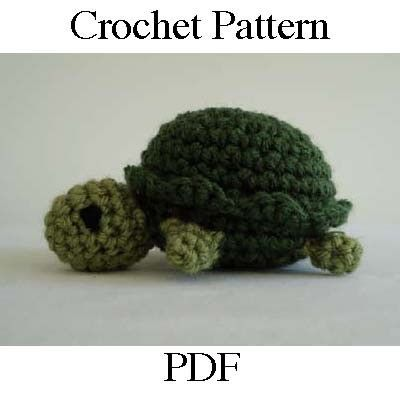 Crochet Patterns Turtle : Crochet Patterns