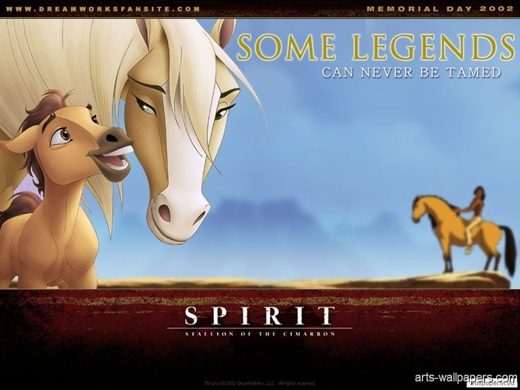 Spirit disney movie poster