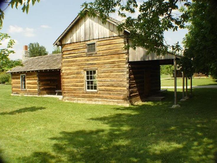 Early log cabin homes pinterest