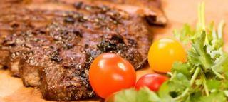 Coriander Crusted New York Steak | New York Steak | Pinterest