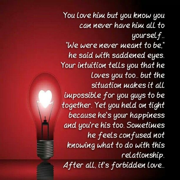 Funny Quotes About Forbidden Love : Forbidden love dont i know it... Pinterest