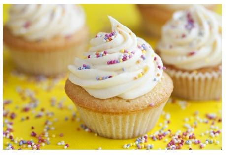 Double Vanilla Cupcake | Food Challenges | Pinterest
