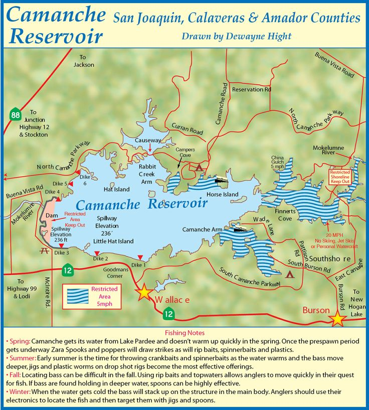 Comanche lake my california fishing boat bucket list for Lake camanche fishing