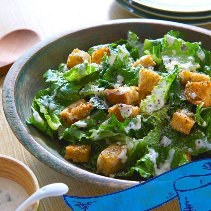 And eat their greens with this Easy Caesar Salad