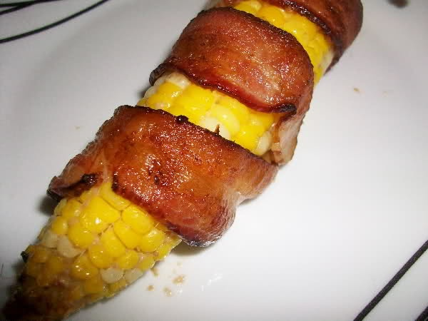 bacon wrapped version and you can always wrap bacon wrapped corn ...