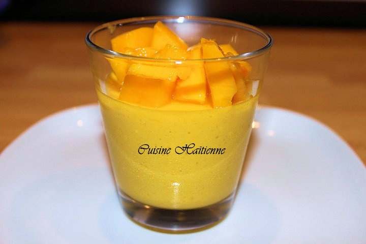 Mango mousse | Country | Haïti Cherie | Pinterest