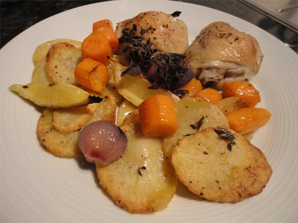 Lemon and oregano chicken roast | Chicken | Pinterest