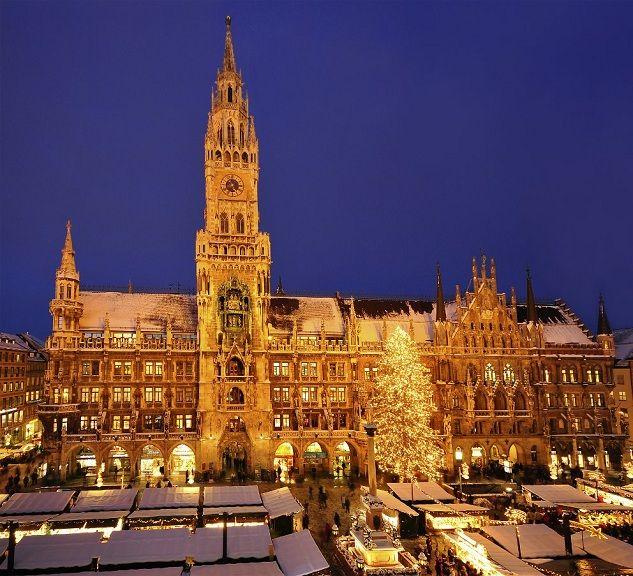 Christkindlmarkt Munich Christmas Pinterest