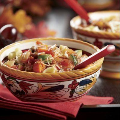 Italian Sausage & Cheese Tortellini Soup | Nom. Nom. Nom. | Pinterest