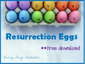 Cute resurrection egg hunt download!!  I'm definitely implementing it this Easter!