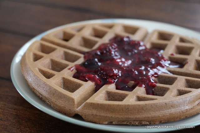 Dark Chocolate Whole Wheat Waffles | Recipes to Try | Pinterest