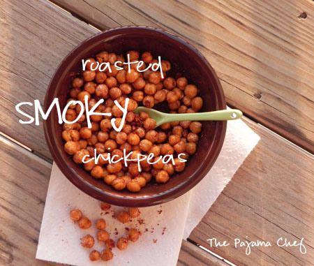 SRC: Smoky Fried Chickpeas | The Pajama Chef