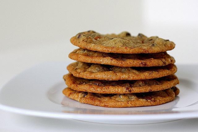 Candied Bacon-Chocolate Chip Cookies | Food, food, food, yummmm | Pin ...