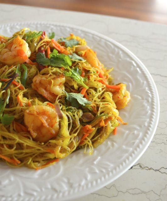 SINGAPORE NOODLES (Singapore Mei Fun) | Recipe