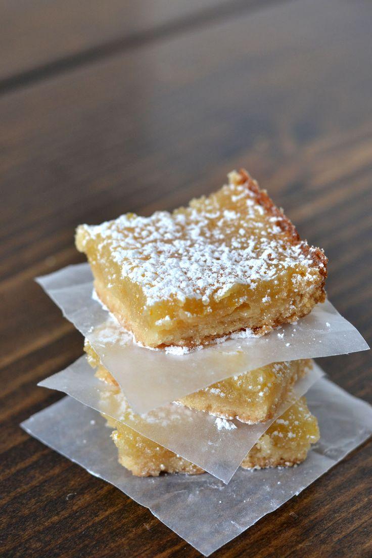 Vegan Meyer Lemon Bars | Recipe