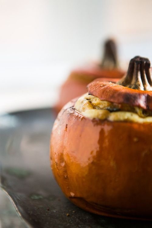 Pumpkin Stuffed With Everything Good Recipes — Dishmaps