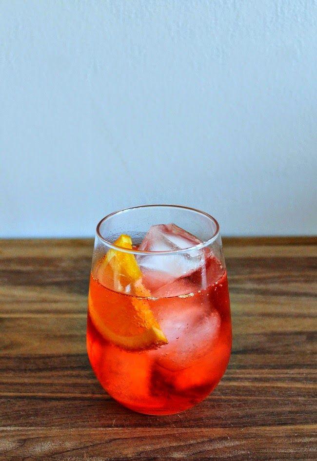 The Campari Mint Spritz Recipe — Dishmaps