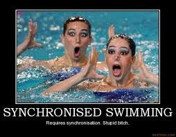 Funny Olympic Swimmer