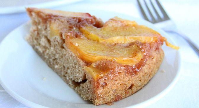Summer Peach Upside Down Cake | Desserts | Pinterest
