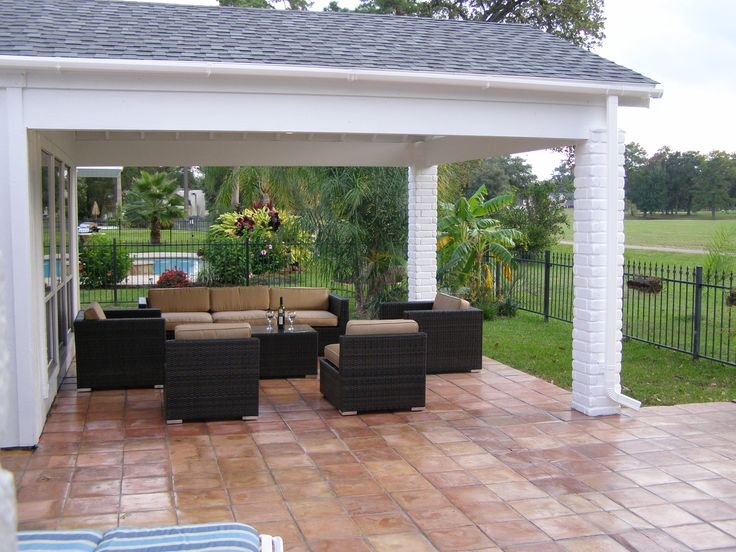 By Affordable Shade Patio Covers On Custom Patio Covers Pintere