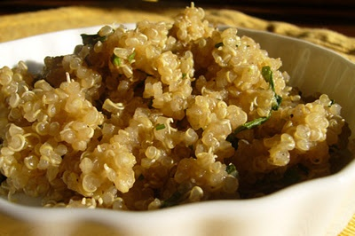 ... convert from white rice. Cooked quinoa seeds are fluffy and creamy