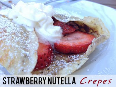 that's what she said.: Strawberry Nutella Crepes. YEAH.