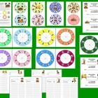 $2.95 Fall Build A Word Wheels – Set 1 – Different Ways To Use and Record – 63 Different Combinations of Wheels, so you can make 63 Word Builder Wh...