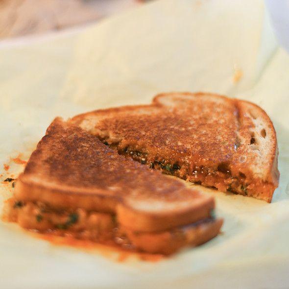 Spicy Thai @ PBJ's - Challah bread, orange marmalade, sriracha, fresh ...