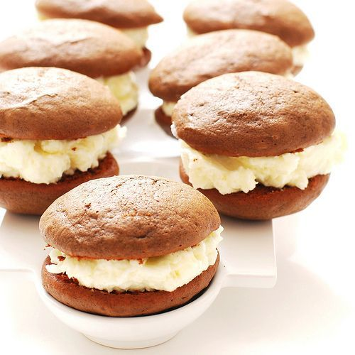 These aren't like your cupcake top gooey dense whoopie pies. These are ...