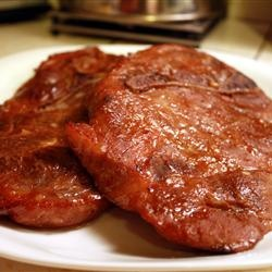 Marinated Baked Pork Chops- I made these a while back and they turned ...