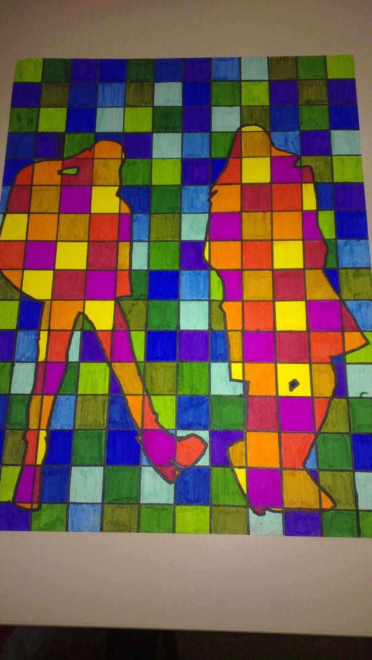 Pin by anke ramakers de rooij on tekenen pinterest - Koude en warme kleuren ...