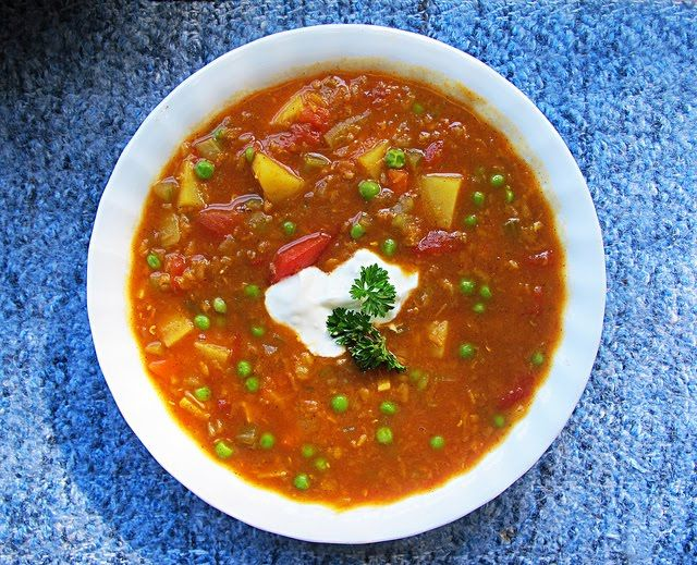 Moroccan Red Lentil Soup | Soups/Chili | Pinterest