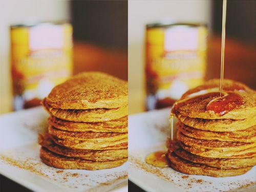 Pumpkin Spice Protein Pancakes. Makes 12 pancakes. 150 calories, 15g ...