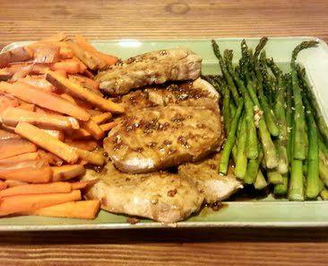 ... garlic mustard marinated grilled pork grilled pork chops with garlic