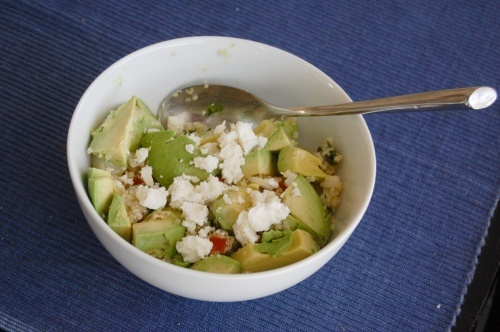 Greek-style quinoa with avocados | Yum! | Pinterest