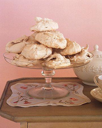 Brown Sugar Meringues - Martha Stewart Recipes - because I don't like ...