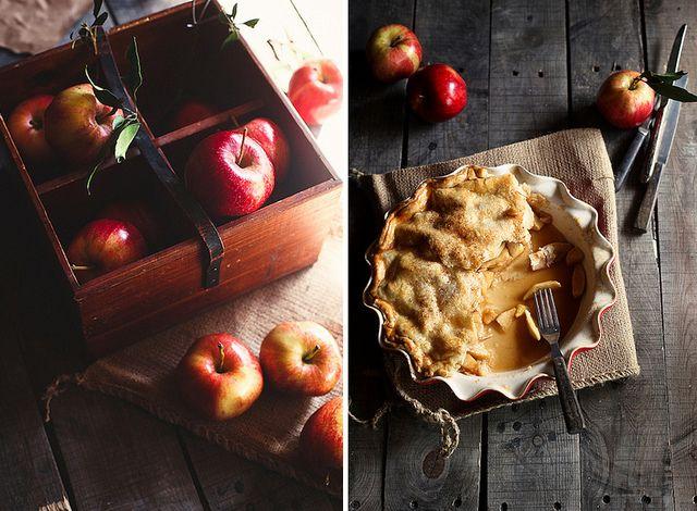 cider caramel apple pie by hannah * honey & jam