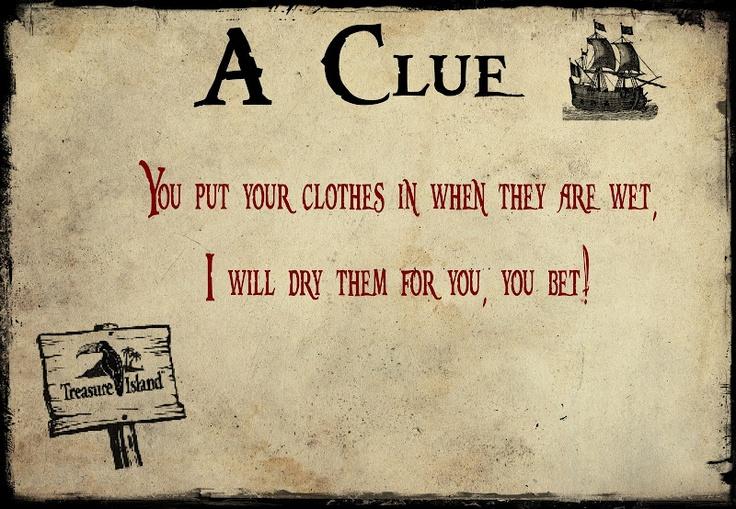treasure hunt cards