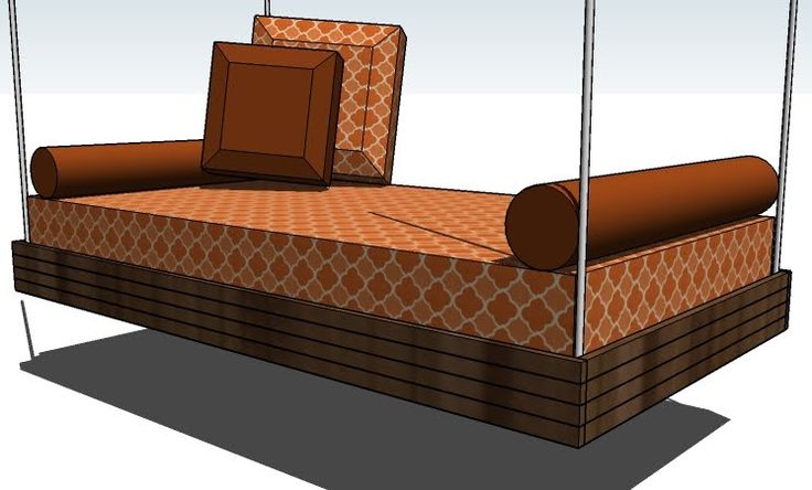 Of build an outside hanging daybed swing hanging outdoor daybed