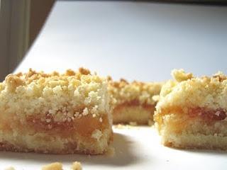 Mango Peach Shortbread Bars | Yummy Desserts | Pinterest