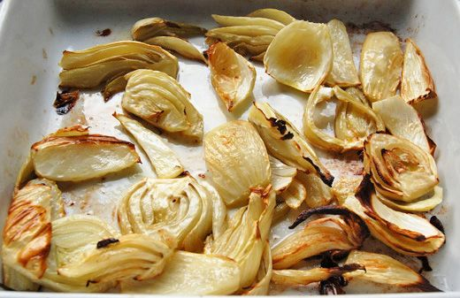 artichoke hearts roasted fennel with asiago and thyme roasted fennel ...