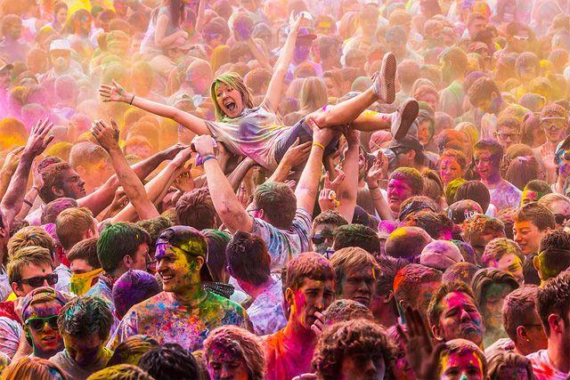 Thomas Hawk – Holi Festival