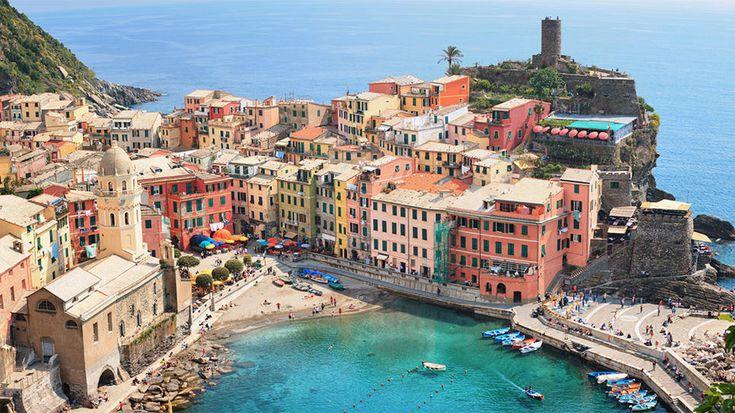 Escape to Cinque Terre, Italy