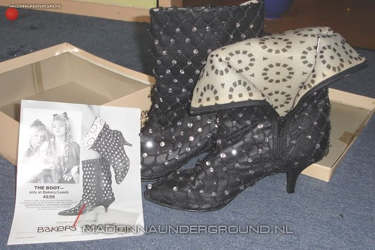 The gallery for --> Desperately Seeking Susan Boots
