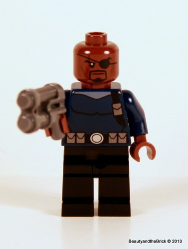 LEGO Nick Fury Minifigure from Set #76004 NEW Marvel ...