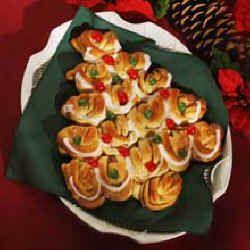 Christmas Tree Bread | breads, scones & shortcakes | Pinterest