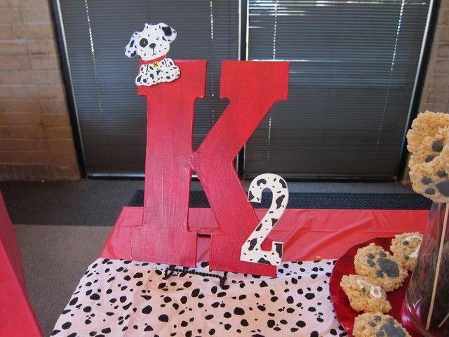 Dalmatian Paw-ty Birthday Party Ideas | Photo 9 of 15 | Catch My Party