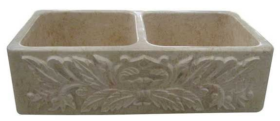 Double Sided Farmhouse Sink : Double Sided Farmhouse Sink Marble Sinks Farm House Stone Sink ...