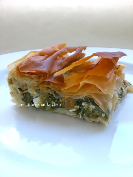 Spanakopita (Greek Spinach Pie)   Delish   Pinterest