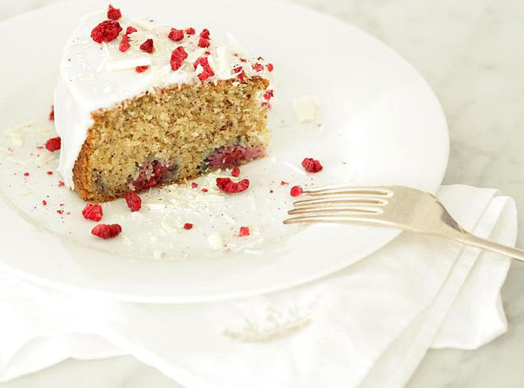Raspberry + Almond Breakfast Cake | w/ the right substitutions... | P ...